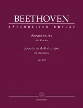 Beethoven L.v. - Sonate In A-flat Major Op.110 - Piano