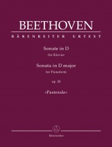 Beethoven L.v. - Sonata D Major Op.28 Pastorale - Piano