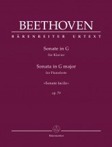 Beethoven - Sonate Facile Op.79 - Piano