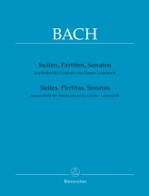 Bach J.s. - Suites, Partitas, Sonatas - Transcribed For Harpsichord (gustav Leonhardt)