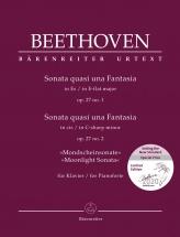 Beethoven L.v. - Sonata Quasi Una Fantasia Op.27 N°1 / Sonata Quasi Una Fantasia Op.27 N°2 Clair De