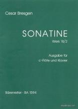 Bresgen C. - Sonatine Für Blockflöte Und Klavier F-dur Op. 18/2