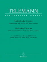 Telemann G.p. - 12 Methodische Sonaten Vol.5 - Flute Ou Violon, Basse Continue