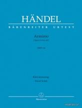 Handel G.f. - Arminio Hwv 36 - Vocal Score
