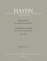 Haydn J. - Concerto In C Major Hob Viib:i - Score