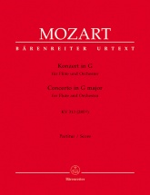 Mozart W.a. - Concerto Flute & Orchestre Kv 313 (285c) - Score