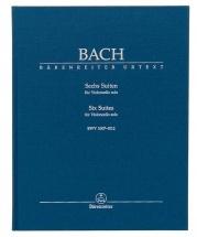 J.s Bach - 6 Suites Bwv 1007-1012 - Violoncelle Seul - Couverture Rigide
