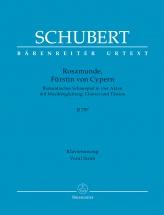 Schubert Franz - Rosamunde, Furstin Von Cypern D797 - Vocal Score