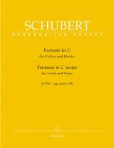 Schubert F. - Fantasia For Violin and Piano C Major Op. Posth 159 D 934