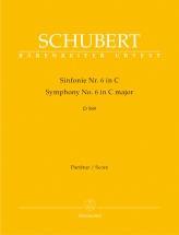 Schubert F. - Sinfonie N° 6 C-dur D 589 - Conducteur