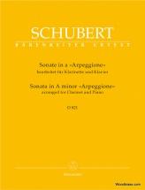Schubert F. - Sonate Arpeggione En La Mineur D 821 - Clarinette & Piano