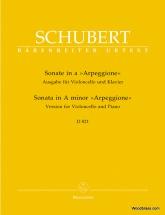 Schubert F. - Sonate A-moll D 821  Arpeggione - Violoncelle Et Piano