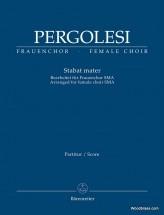 Pergolese G.b. - Stabat Mater - Female Choir Sma - Score
