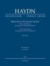 Haydn J. - Missa Brevis St. Joannis De Deo Hob.xxii:7 - Kleine Orgelmesse - Arranged For Female Ch