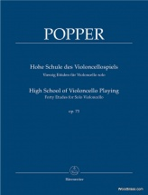Popper D. - High School Of Violoncello Playing Op.73
