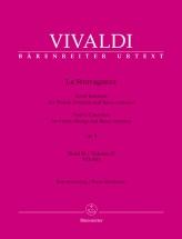 Vivaldi Antonio - La Stravaganza Op.4 Vol.2 - Violon and Piano