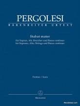 Pergolese G.b. - Stabat Mater - Score