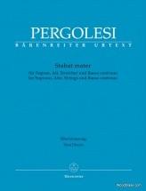 Pergolese G.b. - Stabat Mater - Vocal Score