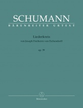Schumann R. Liederkreis Op.39 - Vocal Score