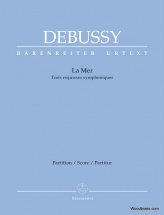 Debussy Claude - La Mer - Score