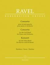 Ravel Maurice - Concerto Pour La Main Gauche - Conducteur