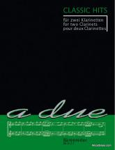 Classic Hits Für Zwei Klarinetten