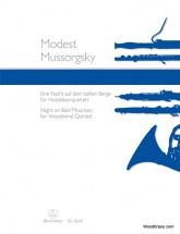 Mussorgsky M. - Night On Bald Mountain For Woodwind Quintet