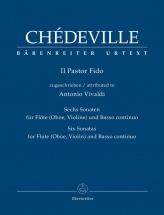 Chedeville Nicolas - Il Pastor Fido - Flute (ou Hautbois, Ou Violon) and Basse Continue
