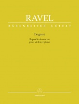 Ravel Maurice - Tzigane - Violon and Piano