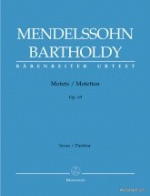 Mendelssohn F. - Motets Op.69 - Satb