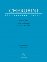Cherubini L. - Requiem - Vocal Score