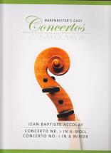 Accolay Jean Baptiste - Concerto N°1 In A-moll