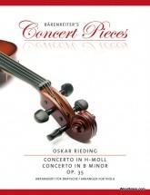 Rieding O. - Concerto In B Minor Op.35 - Alto and Piano