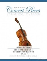 Rieding O. - Concerto In B Minor Op.35 - Violoncelle & Piano