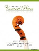 Seitz F. Concerto G Minor Op.12 - Violon & Piano