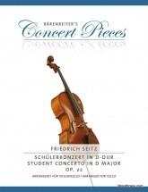 Seitz F. - Concerto In D Minor Op.22 - Violoncelle & Piano