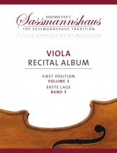 Viola Recital Album Vol.3 - Alto and Piano