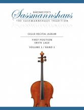 Sassmanhaus - Cello Recital Album Vol.1