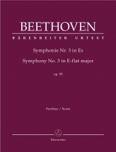 Beethoven L.v. - Symphonie N.3 Op.55 Eroica - Score