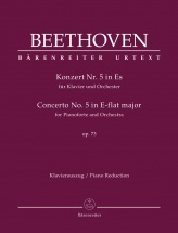 Beethoven L.v. - Concerto For Pianoforte And Orchester N°5 Op.73 - Piano Reduction