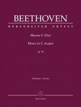 Beethoven L.v. - Mass C Major Op.86 - Score