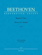 Beethoven L.v. - Mass C Major Op.86 - Vocal Score