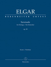 Elgar E. - Serenade Für Streicher Op.20 - Conducteur