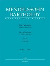 Mendelssohn F. - Hebrides Op.26 - Score