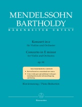 Mendelssohn F. - Concerto In E Minor Op.64 (1845) - Violon and Piano