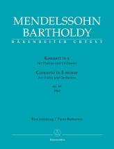 Mendelssohn F. - Concerto In E Minor Op.64 (1844) - Violon and Piano