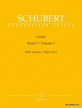 Schubert F. - Lieder Vol.7 - High Voice