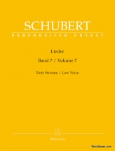 Schubert Franz - Lieder Vol.7 - Tiefe Stimme / Low Voice