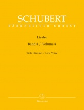 Schubert Franz - Lieder Vol.8 - Voix Basse and Piano