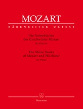 Mozart W.a. - The Music Books Of Mozart And His Sisters - Piano
